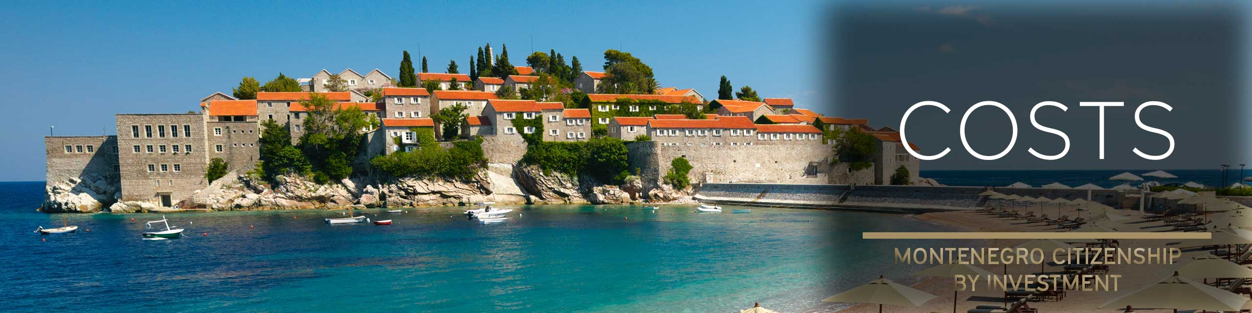 Montenegro citizenship costs